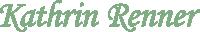 Logo Kathrin Renner